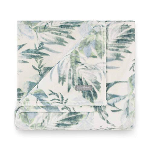 Tommy Bahama Wallpaper Leaves Throw, 50x70, - Tommy Bahama Fleece