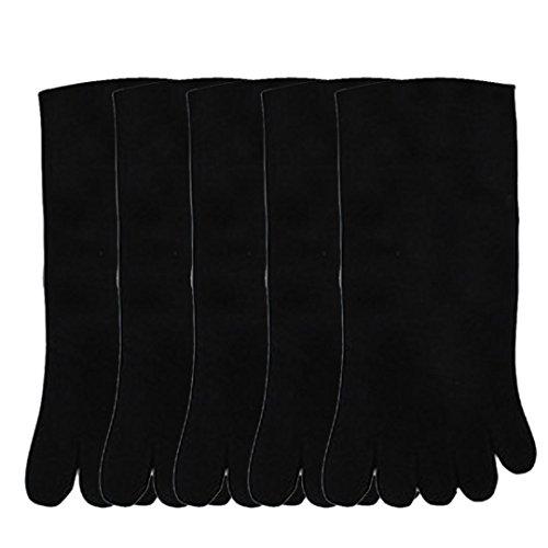 correr deportes el 5 dedo pie cinco calcetines hombres Adeshop dedos pares del wfSxqIO