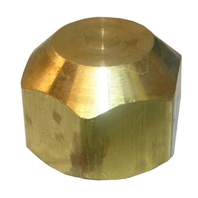 LASCO 17-4049 1/2-Inch Brass Flare Cap