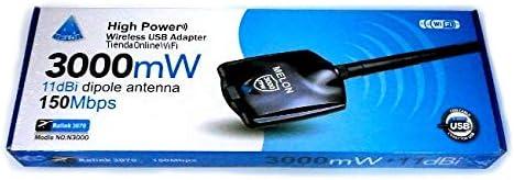 Antena WiFi USB N3000 Ralink 3070 2.4Ghz