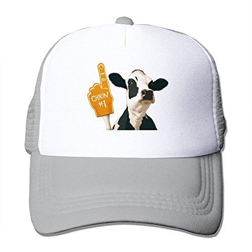 (Fashion Funny Cow Finger Joke Hiphop Hat Unisex)