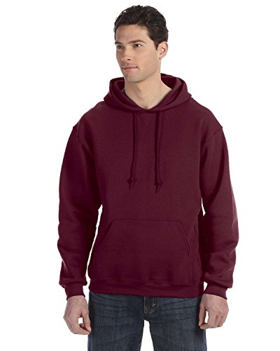 Russell Athletic Dri-Power Fleece Pullover Hood, Small, Maroon