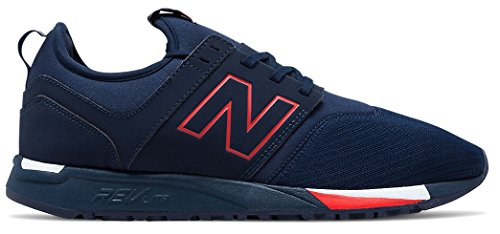 New Balance Men's MRL247 Classic Running Shoe, Size: 10 Width: D Color Navy/Red Review
