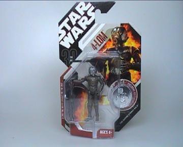 Star Wars 3.75 Basic Figure 4-LOM 4 Lom Action Figure