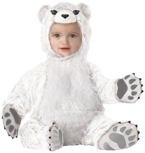 California Costumes Polar Bear Infant Jumpsuit Costume