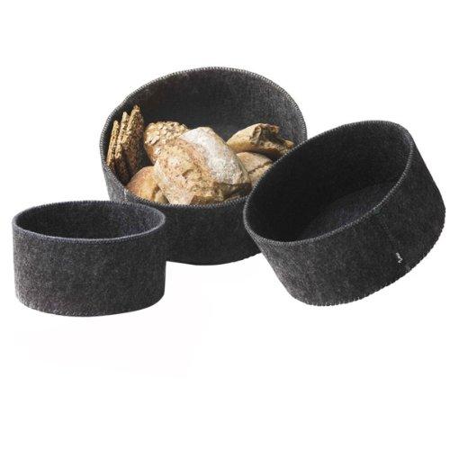 Menu New Norm Felt Bread Basket, Set of (Felt Basket)