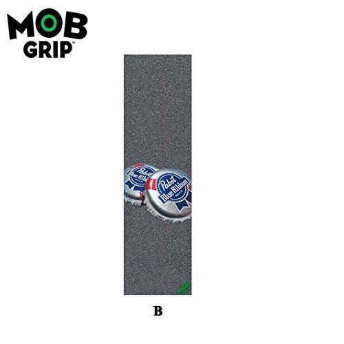 MOB GRIP(モブグリップ) Pabst Blue Ribbon パブストブルーリボンスケートボードグリップデッキテープ(B)【並行輸入品】