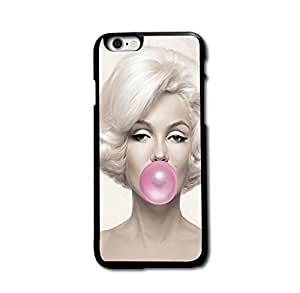 "Tomhousomick Custom Design Women's Fashion Cases Sexy Star Marilyn Monroe Style Case for iphone 5 5s "" Back Cover #39"