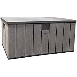 Life Time Resin Deck Box 150 Gallon Outdoor Storage Unit