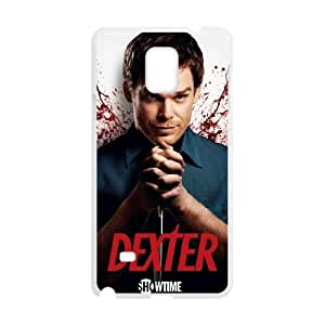 Samsung Galaxy Note 4 Cell Phone Case White Dexter Blood Gofe