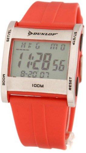 Dunlop Reloj Digital para Hombre de Automático con Correa en Caucho DUN-39-G07: Amazon.es: Relojes