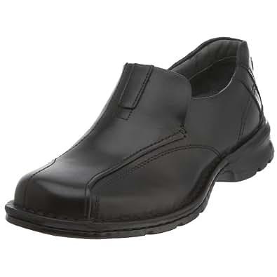 Clarks Men's Escalade Slip-On,Black,8 M