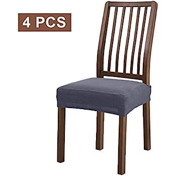 Amazon Com Patiomatrix Spandex Dining Chair Seat Covers