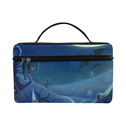 Halloween Day K Hd Wallpapers Freecomputerdesktop Pattern Lunch Box Tote Bag Lunch Holder Insulated Lunch Cooler Bag For Women/men/picnic/boating/beach/fishing/school/work ()