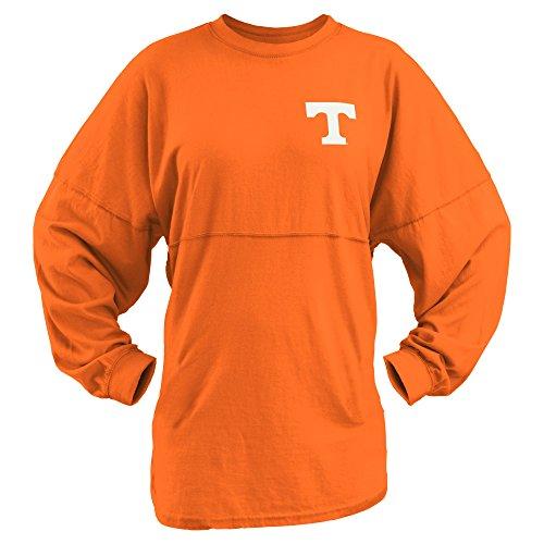 NCAA Tennessee Volunteers Junior's Coastal Sweeper Jersey, Orange, Medium