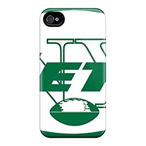 Bumper Hard Phone Case For Iphone 6 (rUv7506SgCy) Provide Private Custom Nice New York Jets Series