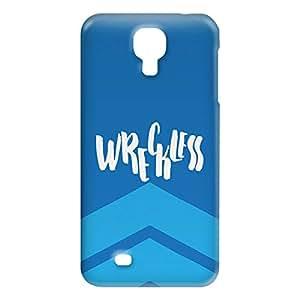 Loud Universe Samsung Galaxy S4 Wreckless Print 3D Wrap Around Case - Blue/White