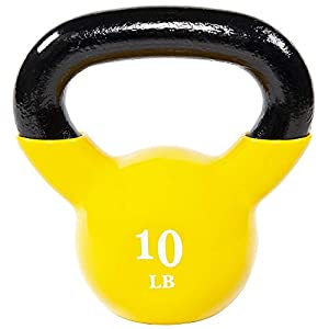 Well-Being-Matters 41JFD%2B8MivL._SS300_ Everyday Essentials All-Purpose Color Vinyl Coated Kettlebell