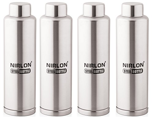 Nirlon Stainless Steel Water Bottle Set Rs. 999  ( 63%  Discount).