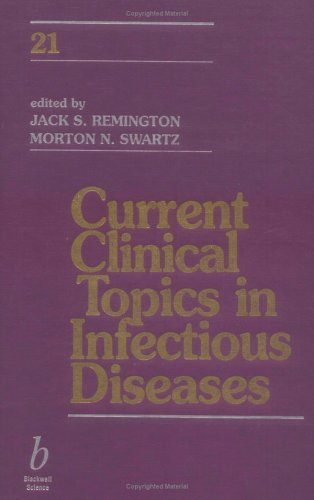 Current Clinical Topics in Infectious Diseases
