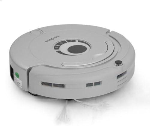 Klarstein - Clean Touch Robot inteligente, Aspirador con lámpara ultravioleta desinfectamte (Modo ininterrumpido, programable, velocidad ajustable, mando a distancia), color plateado [Importado de Alemania]: Amazon.es: Hogar