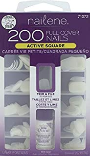 Nailene Full Cover Nail, 200 Count