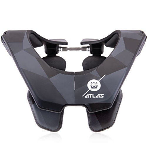 Atlas Air Brace Abstract Neck Brace Black Small Motocross MX Protection by Atlas