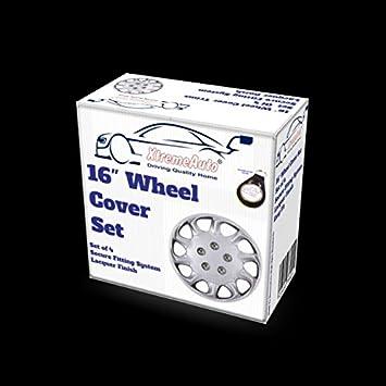 XtremeAuto® 16 inch Cubo de rueda Llantas Juego de funda de ...