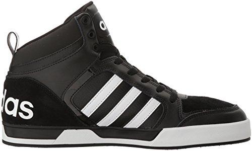 De Basket Noir Adidas Chaussures ball Noir Raleigh 9tis Mi Blanc Hommes Néo f7O4q