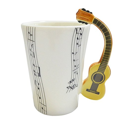 Porcelain Coffee Unique Design Guitar product image