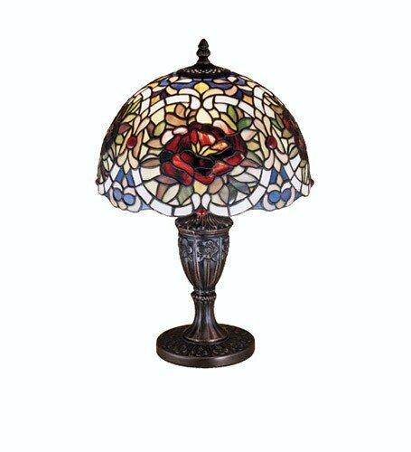 (Renaissance Rose Accent Table Lamp)