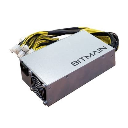 Bitmain APW3+ Power Supply PSU for Antminer ASIC Miner S9 L3 D3 w// power cord