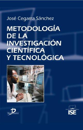 Descargar Libro Metodología De La Investigación Científica Y Tecnológica: 1 José Cegarra Sánchez