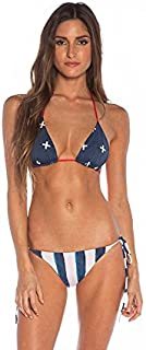 product image for New Tavik Women's Janet Classic Tie Side Bikini Bottom Nylon Spandex