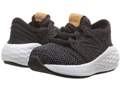 [new balance(ニューバランス)] メンズランニングシューズ?スニーカー?靴 KVCRZv2I Knit (Infant/Toddler) Black/Magnet 3 Infant (10cm) M