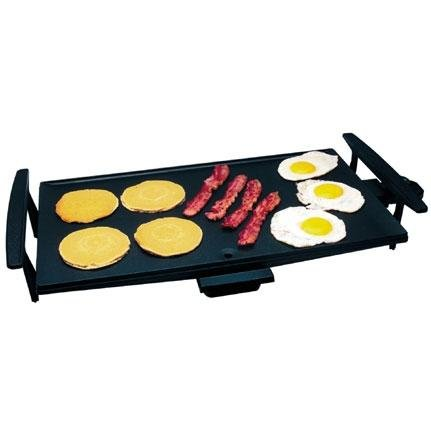 Broil King GRD550 21-inch by 12-inch Heavy Cast Surface Electric Griddle, Black