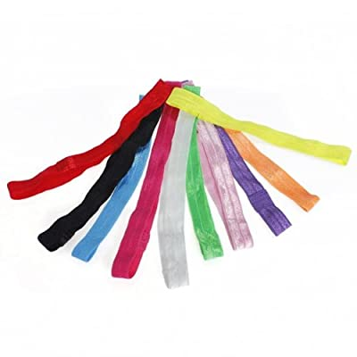 10pcs Colorful Baby Girl Headware kids elastic Headband