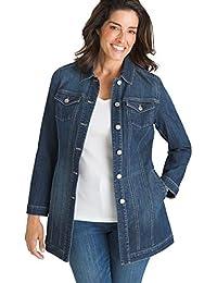 Women's Elongated Denim Jacket