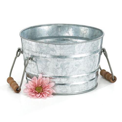 Burton and Burton BURTON-92879 92879 Galvanized Tin Wash Tub, Multicolor