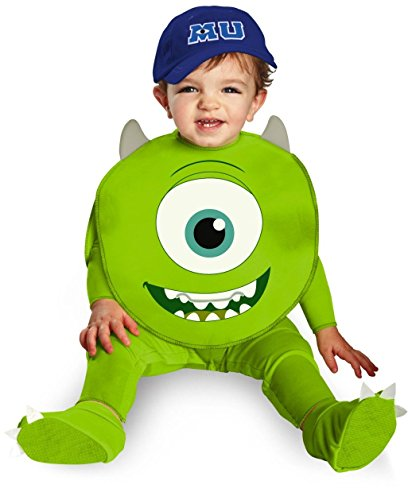 [Monsters University Mike Baby Costume - Infant - Infant] (Monster University Costumes)