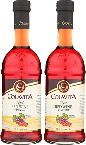 Colavita Aged Red Wine Vinegar, Special, 34 (Red Wine Vinegar)