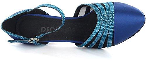 DSOL CLASSIC - Zapatillas de danza para mujer negro negro 38 Azul