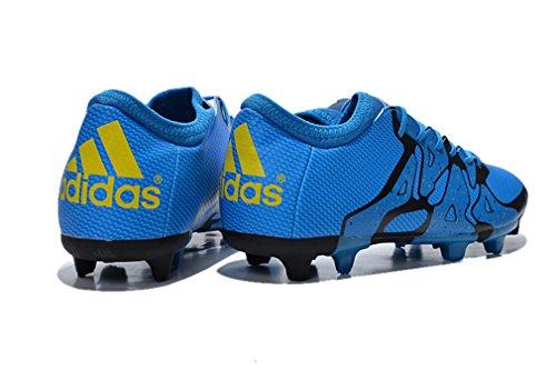 Generic Herren s X 15,1FG/AG blau Low Fußball Schuhe Fußball Stiefel