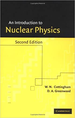 Introduction To Nuclear Physics 2ed W N Cottingham