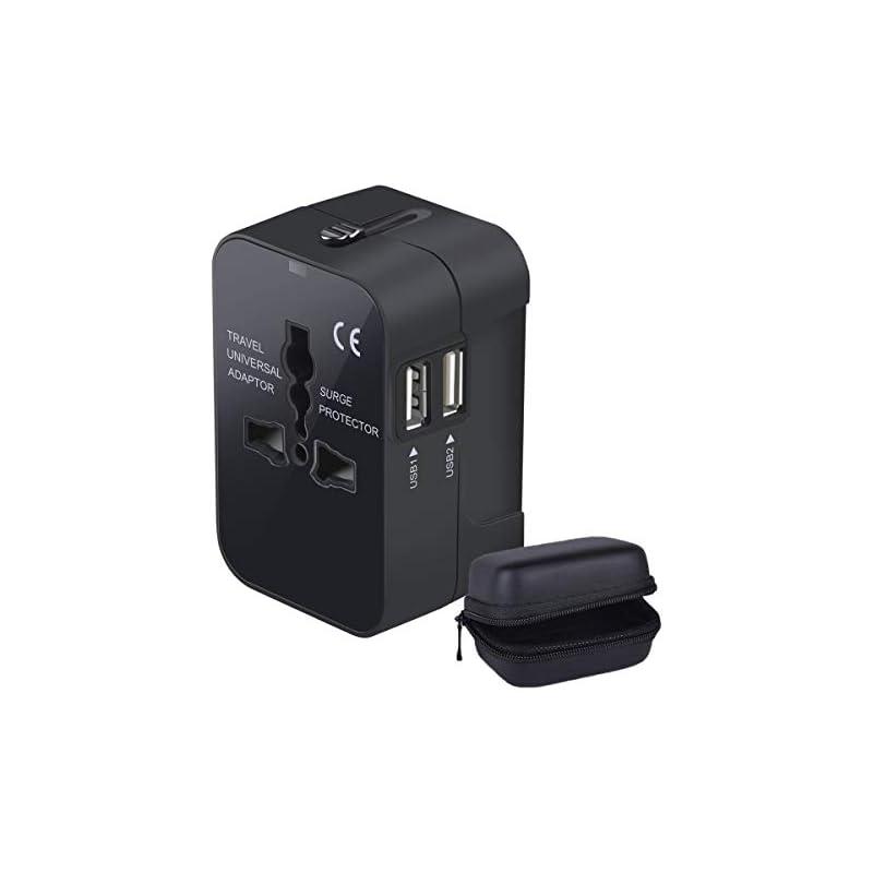 LKY DIGITAL Travel Adapter, Worldwide Al