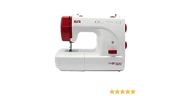 Alfa NEXT820 A082000000, 70 W, Aluminio, Rojo/Blanco: Amazon.es: Hogar