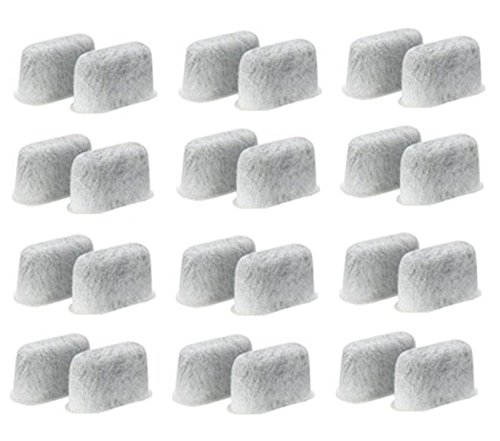 24PCs Charcoal Water Filter Replacement for Cuisinart Coffee Makers, - First On There Class Is Tracking Mail