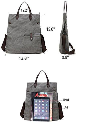 Bags Bag Canvas Beige Tote Casual Women Shouder Hobo Bag Handbag Body Bag Cross Messenger ZIIPOR Bag OAfwqPxEZ