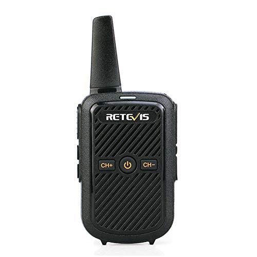 DZSF RT15 Mini Walkie Talkie 2W UHF 400-470Mhz 16CH CTCSS/DCS TOT VOX Scan Two Way Radio Communicator USB Charging 5Km