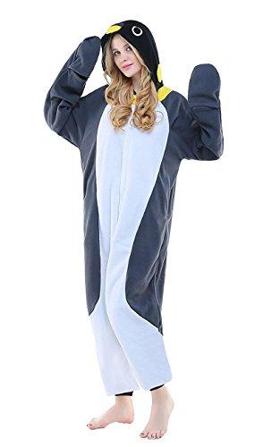 Forever Lazy Penguin Costume Onesie - M ()